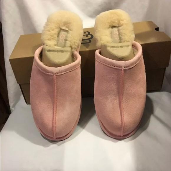 Uggs UGG W Pearle Sheepskin Pink Women s Slipper 607ccae98